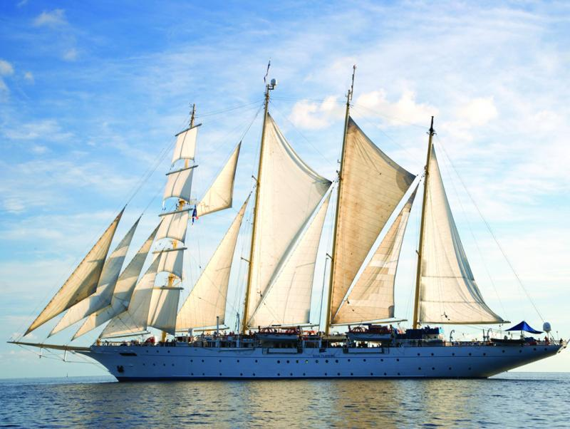 Star Clippers Viermaster Star Clipper Tauchen