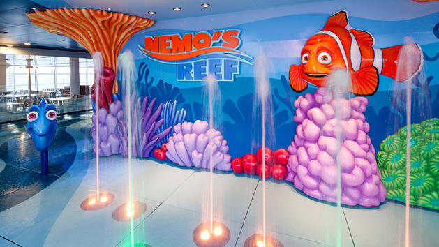 disney cruise nemos reef kids area