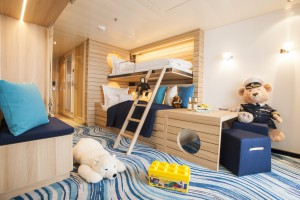 Hapag lloyd Cruises MS EUROPA 2 Familienapartement