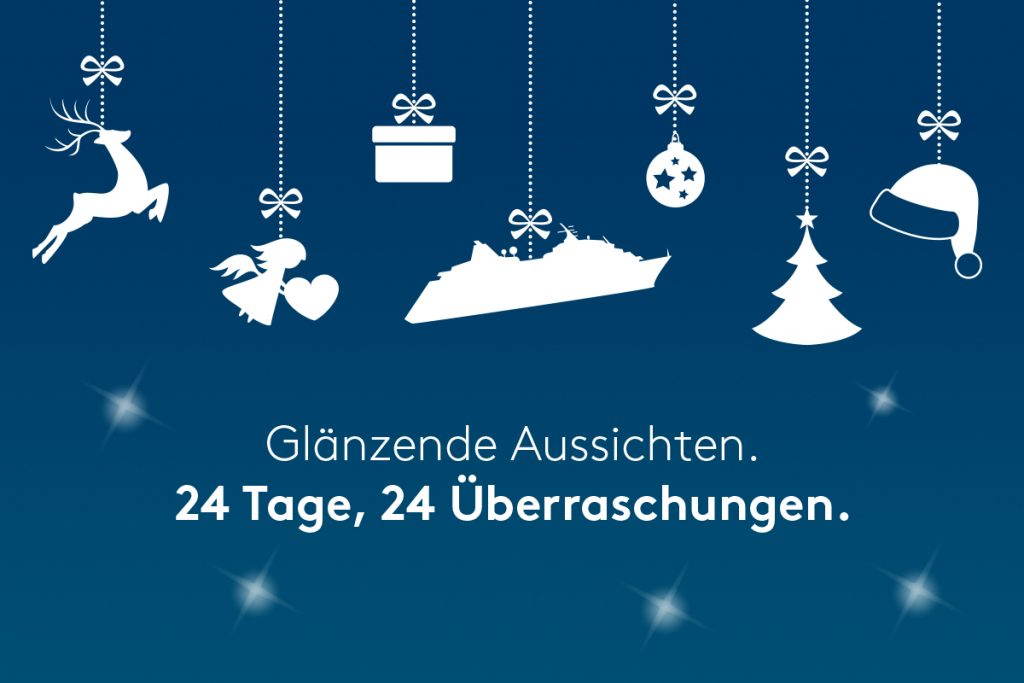 hapag lloyd cruises Adventskalender 2017