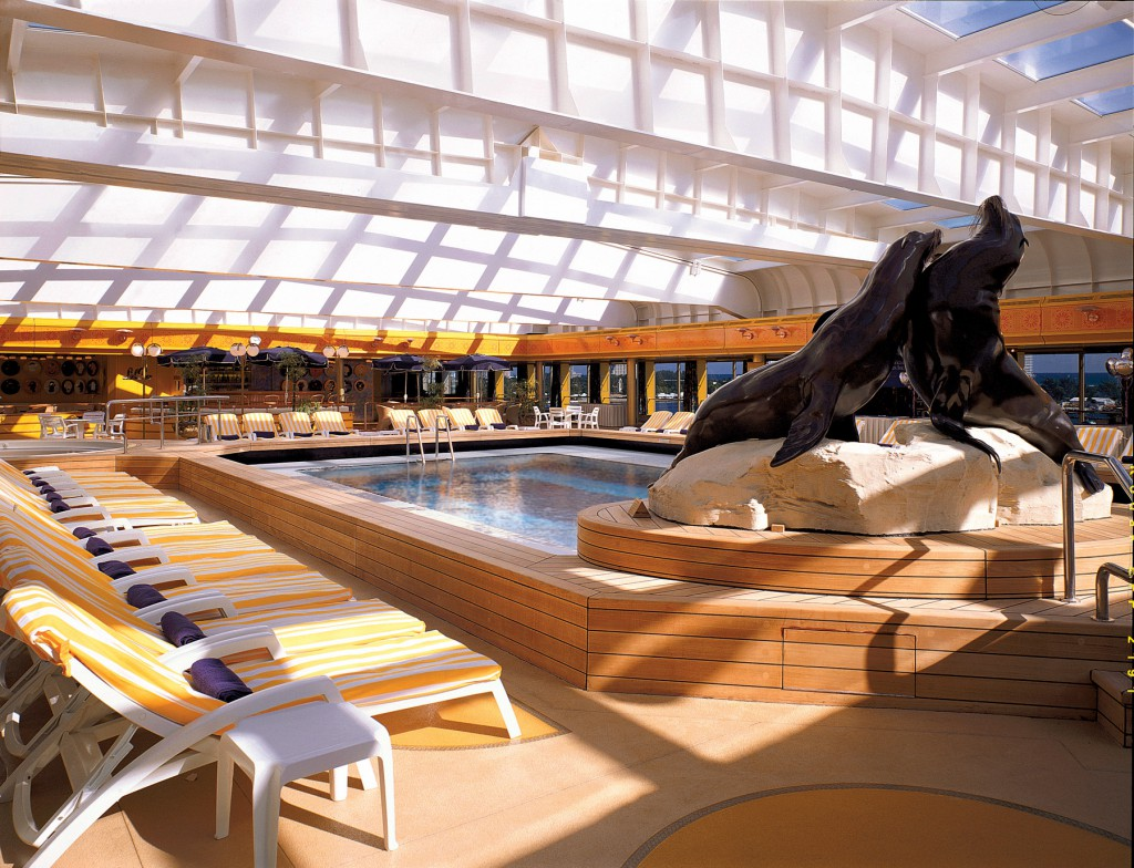 holland america line ms Rotterdam Lido Pool