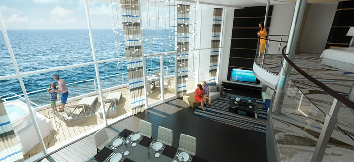 loftsuite ovation of the seas