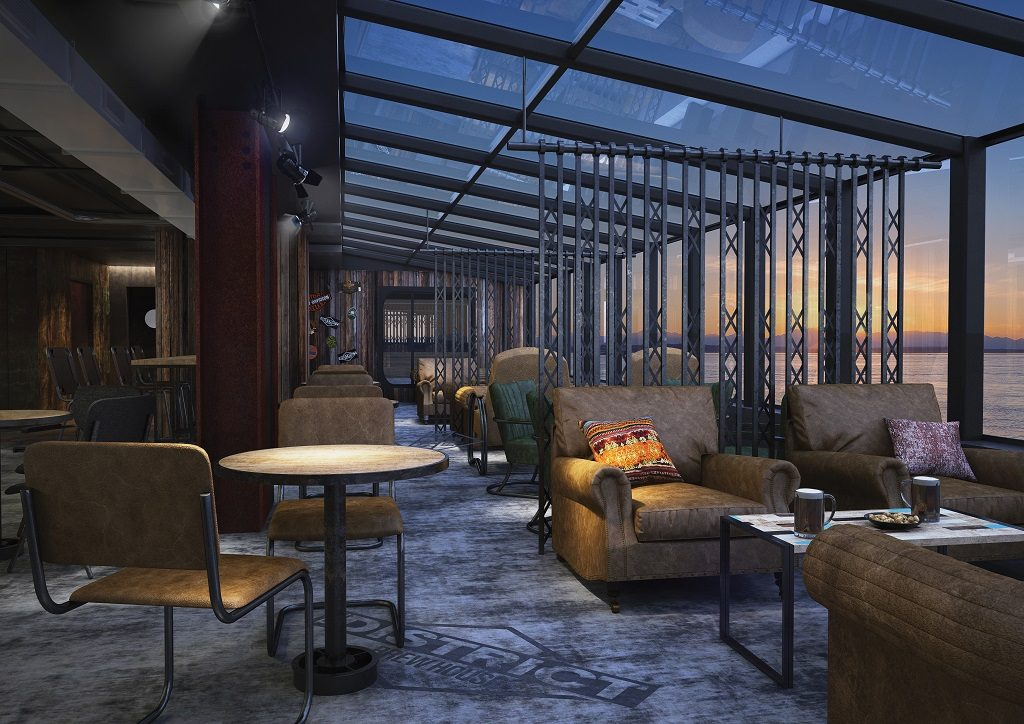 Norwegian Bliss District-Brew-House-Lounge