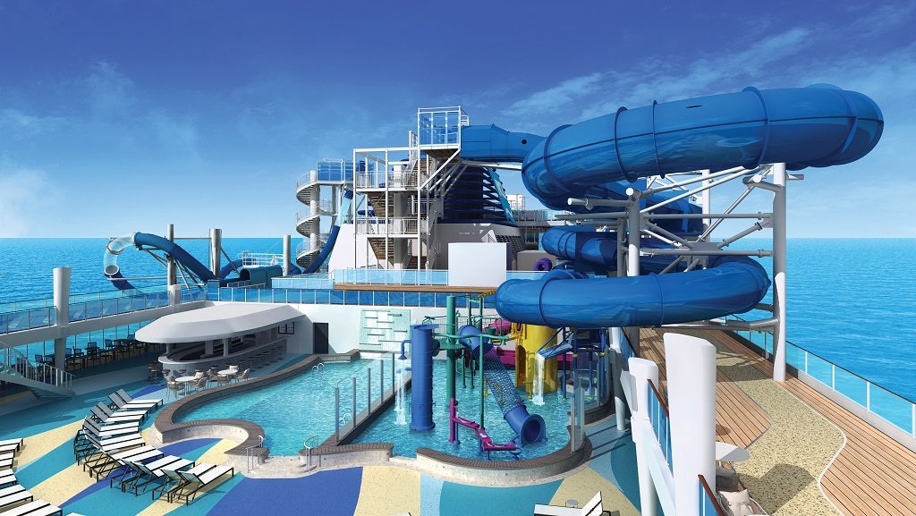 Norwegian Bliss Pool-Deck-Aqua-Park