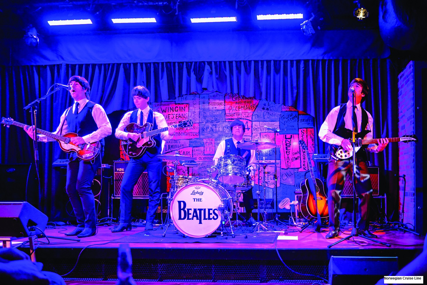 Norwegian Cruise Cavern Club Performance BEATLES