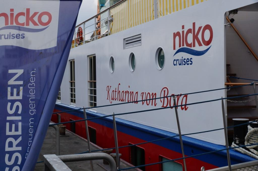 nicko cruises Katharina von Bora auf den Hamburg Cruise Days 2017