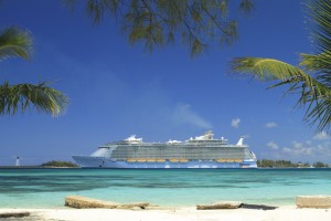 royal caribbean Allure in cozumel karibik