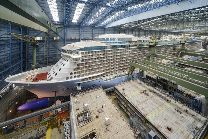 royal caribbean Ovation of the Seas Meyer Werft