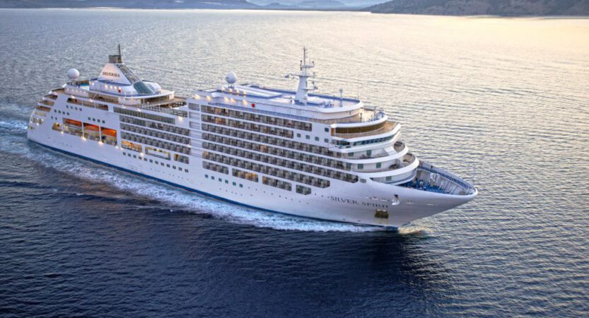 Neues Luxusschiff Silver Muse